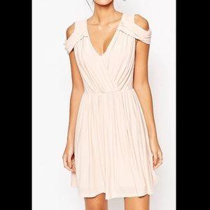 LIGHT PINK/BLUSH ASOS dress